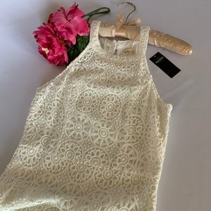 HOLLISTER AWESOME WHITE LACE DRESS (S)